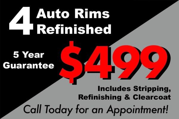 Wheel Repair Special!