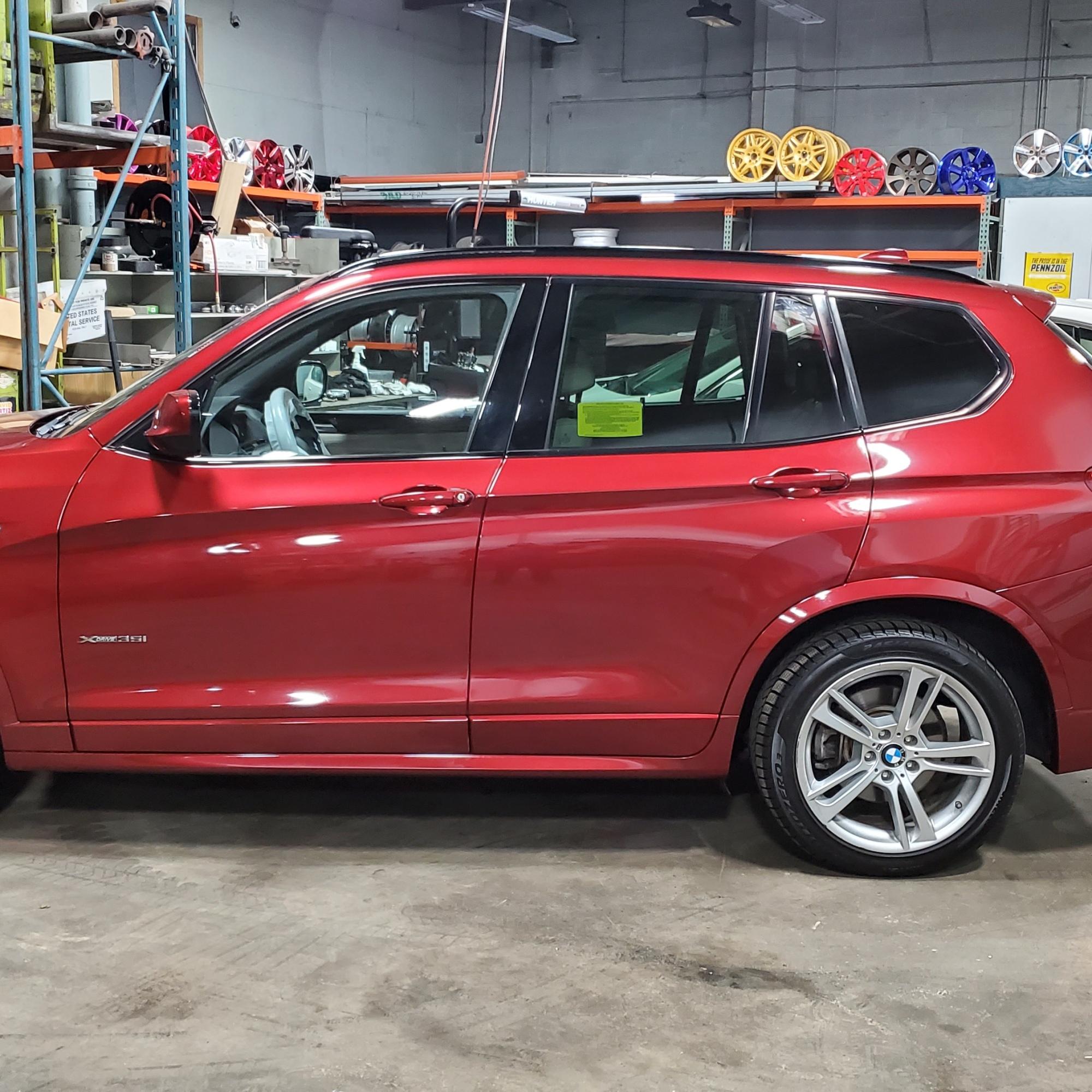 BMW Wheel Repair Silver Rims