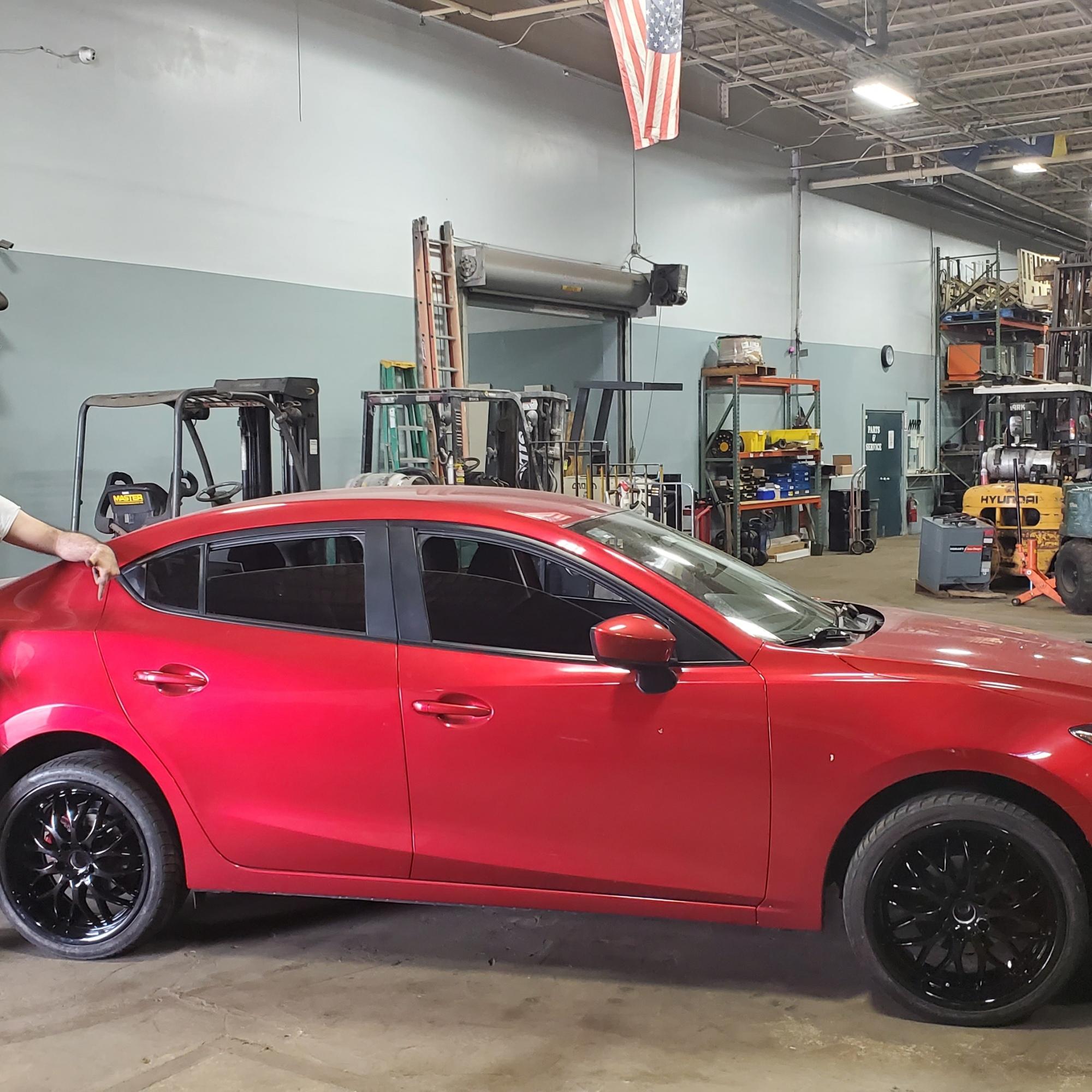 Happy Customer Wheel Repair Gloss Black Rims
